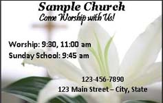 Sumter sample church oda